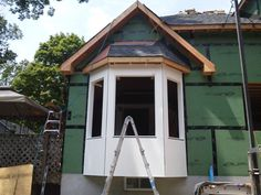 Constructing Bay Windows Walk Out Window Could Be Ready For Seat