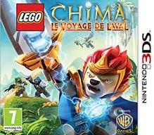 Un bon petit jeu sur 3DS, où on joue Laval, de Lego Chima !