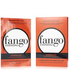 Fango ENERGIZE Sheet Mask, $7