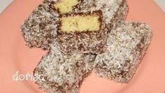 Kokosové štangličky