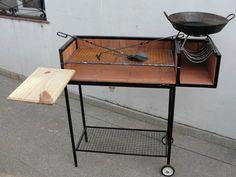 pup Bbq Grill, Barbecue, Grilling, Santa Maria Grill, Custom Bbq Pits, Built In Braai, Bar B Q, Wood Fired Oven, Firewood