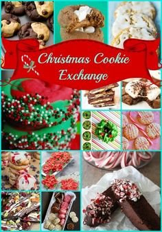 Delicious Christmas Cookie Exchange Recipes and Ideas via @thegirlcreative