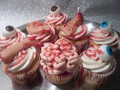 scary cupcake contest ideas...