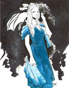 Daenerys Targaryen by Robbi Rodriguez