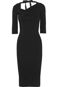 Roland Mouret Sirus stretch-crepe dress | NET-A-PORTER