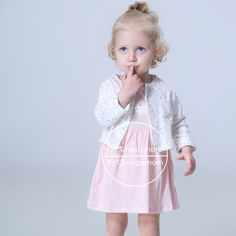 5e75beca4 2018 Spring autumn Baby Girls Clothing Sets Newborn Baby girl Clothes Roupa Infant  Jumpsuits Cotton Baby dresses 2 pieces set