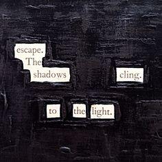 Hold Fast. #makeblackoutpoetry #blackoutpoetry #poetry
