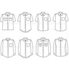 Women's Long Colorblock Dress Fashion Flat Template – Illustrator Stuff