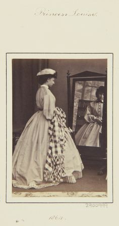 Princess Louise, 1864 [in Portraits of Royal Children Vol.8 1864-1865]   Royal Collection Trust