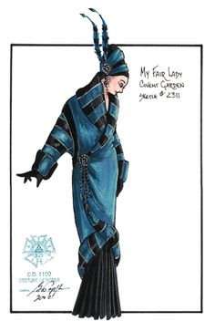 Gregory A. Poplyk Costume Design for Paper Mill Playhouse's My Fair Lady (2002)