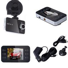2.7 inch LCD Full HD 1080P Car DVR Vehicle Camera Video Recorder
