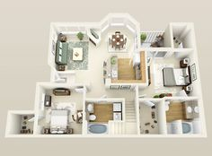 Sims 4 House Plans, House Layout Plans, Small House Plans, House Layouts, House Floor Plans, Sims 4 House Design, Dream Home Design, Home Design Plans, Apartment Layout