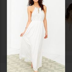 Maxi Dress Kimchi Blue Brand Urban Outfitters