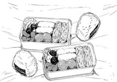 Find images and videos about food, manga and bento on We Heart It - the app to get lost in what you love. Food Drawing, Manga Drawing, Manga Art, Manga Anime, Anime Art, Main Manga, Manhwa, Anime Bento, Architecture Drawing Sketchbooks