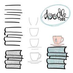 Risultati immagini per bullet journal dessin plante Bullet Journal Art, Bullet Journal Ideas Pages, Bullet Journal Inspiration, Doodle Sketch, Doodle Drawings, Easy Drawings, Doodle Doodle, Drawing Sketches, Simple Doodles Drawings