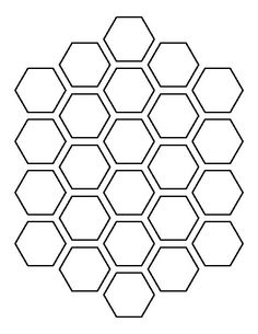 Use the printable outline for crafts, creating stencils, scrapbooking, and more. Free PDF template to…