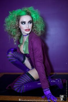 The Joker Costume @Kelly Lynn I actually approve of this costume, with a little variation. love it.