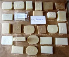 How to alter you soap recipe - lather, hardness, conditioning etc.