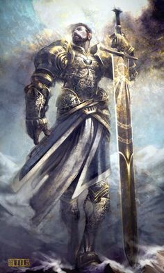 Random Fantasy/RPG artwork I find interesting,(*NOT MINE) from Tolkien to D&D. Fantasy Male, Fantasy Armor, High Fantasy, Medieval Fantasy, Fantasy World, Armadura Medieval, Fantasy Character Design, Character Art, Character Ideas