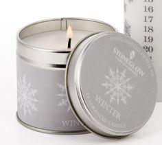 Stoneglow winter scented candle   eBay UK   eBay.co.uk