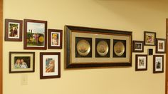Frame Gallery Wall with New Thermostat