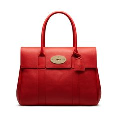 Mulberry - Bayswater in Fiery Spritz Small Classic Grain