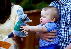 Prince George during a 2014 visit at Taronga Zoo in Sydney April 20, 2014