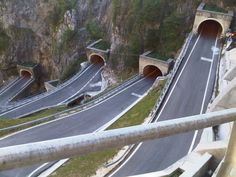 Passo Boldo, Dolomites, Italy