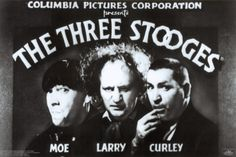 """The Three Stooges - Please, please don't make a Stooges movie.  And, please don't sell out and offer us a """"Curly Joe.""""  Shemp is incredibly funny and was the original 3rd stooge, but, not until the addition of Curly did these three legends capture a little boy's funny bone.  Holy crap, they were funny to me when I was a kid (and sometimes they still are now that I'm an old sourpuss).  I add all three as pawns to my chess board of comedy favorites."""