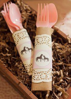 Pink Vintage PONY / HORSE Baby Shower by PartySprinklesStore