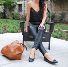 *must. have. black. leather. pants.