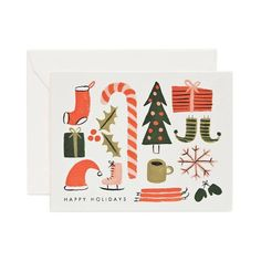 Rifle Paper Co. Favourite Things Christmas Card