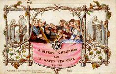 premiere-carte-noel. 1843