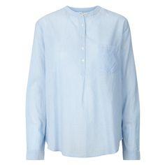 Lollys Laundry Skjorte, Lux, Lys Blå