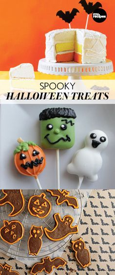 Spooky Halloween Treats | MyRecipes.com  Ghouls, goblins, and ghosts - that you can eat! Here is our collection of our favorite spooky treats that you can take to parties, give to friends, or use to scare the neighbors!