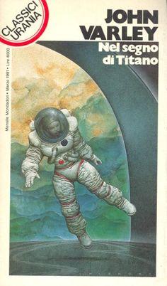 168  NEL SEGNO DI TITANO 3/1991  WIZARD (1980)  Copertina di  Oscar Chichoni   JOHN VARLEY