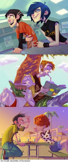 Ed, Edd, and Eddy all grown up…