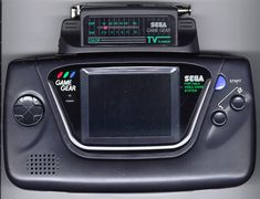 Still have my Sega Game Gear with TV Tuner and all.