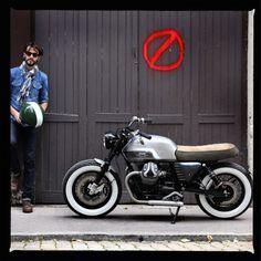 Moto Guzzi V7 limited by BAAK Motocyclettes