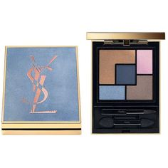 Yves Saint Laurent  Couture Palette Collector Eyeshadow ($60) ❤ liked on Polyvore featuring beauty products, makeup, eye makeup, eyeshadow, savage escape, yves saint laurent and palette eyeshadow