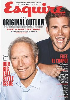 "Pin for Later: Scott Eastwood on His Famous Father: ""He's Definitely Old-School"""