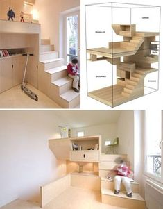 add some levels to your room, maximize space .. Perfect for dorm or small house layout.. Wonder how tall it is..