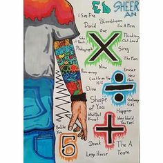 ed sheeran album art and tattoos Ed Sheeran Quotes, Ed Sheeran Love, Ed Sheeran Lyrics, 5sos Lyrics, Music Ed, Music Stuff, Song Quotes, Music Quotes, Geeks