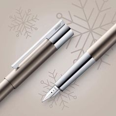 LAMY scala in Titanium is the perfect gift for an elegant lady: sparkling like champagne, elegant like well-fitted dress.  #lamy #lamyscala #christmas #gift #giftideas