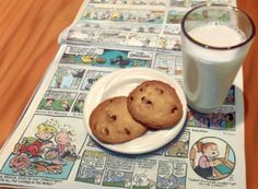 "Photorealistic painting at Art Leaders Gallery: ""Cookies and Milk"" by Doug Bloodworth. Discover affordable fine art, sculptures, hand blown glass, art gifts, and custom framing. artleaders.com 