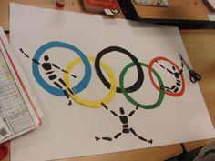 Samenwerkingsopdracht Olympische Spelen. Link activiteit: http://kids.flevoland.to/knutselen/olympische-spelen.shtml