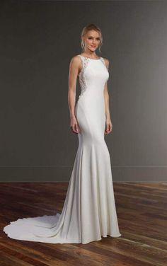 782 Racerback Wedding Dress by Martina Liana