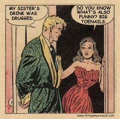Posts about romance written by thingsmyexsaid Vintage Lesbian, Trending Art, Do You Know Me, Batman Vs Superman, Comic Panels, Vintage Comics, Optimism, My Sister, Vintage Advertisements