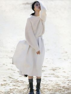 """""""Promise Land"""" Vogue Russia,July 2013 Ji Hye Park by Emma Tempest styling by Camilla Pole"""