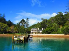 Mansion House, Kawau Island, NZ Long White Cloud, Mansions Homes, Stunningly Beautiful, Middle Earth, What Is Like, Places Ive Been, Ocean, Island, Landscape